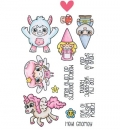 OK! - Mythical Cuties - Clear Stamps von C.C.Designs